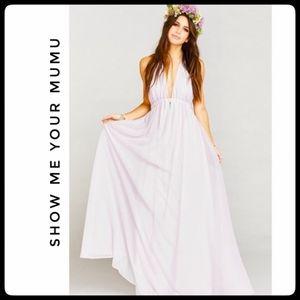 Shoe me your  MUMU Luna Halter Dress *NWOT